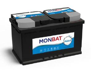 MONBAT S-S AGM 80Ah