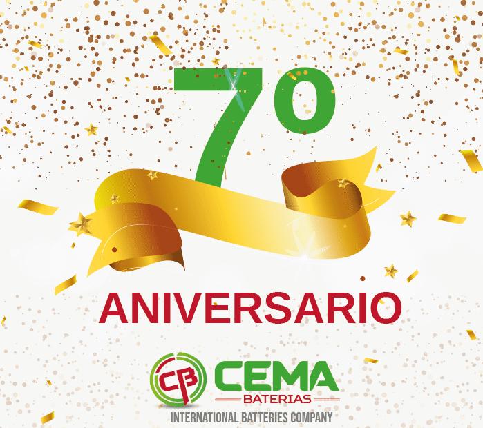7º aniversario CEMA Baterías
