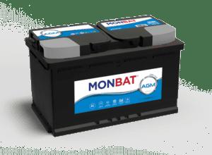 Batería Monbat AGM Start-Stop 80Ah