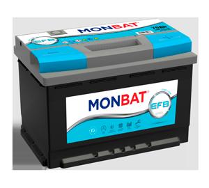 Batería Monbat EFB Start Stop 70 Ah
