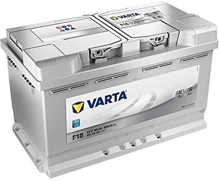 silver dynamic F18 varta