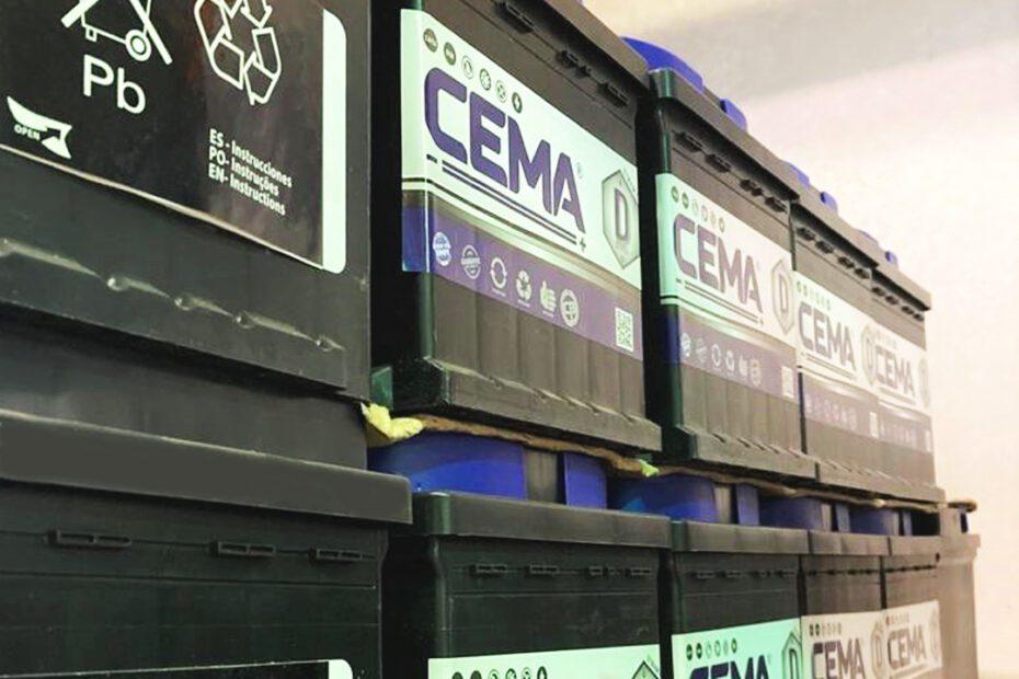 Baterías de primeros fabricantes mundiales- CEMA Baterías