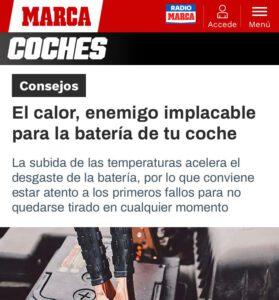 CEMA Baterías es protagonista en MARCA