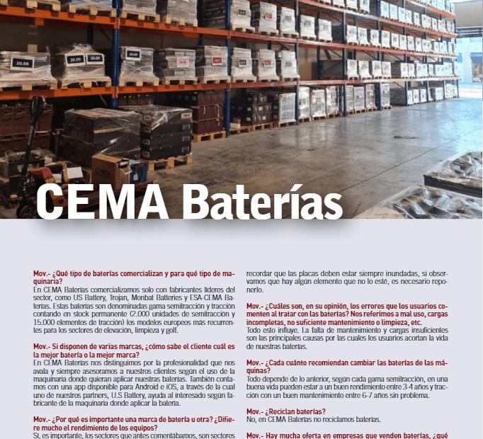 CEMA Baterías- especial baterías Movicarga