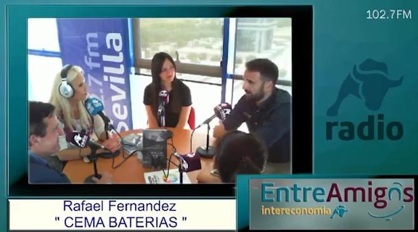 Entrevista a CEMA Baterías en Radio Intereconomía Sevilla