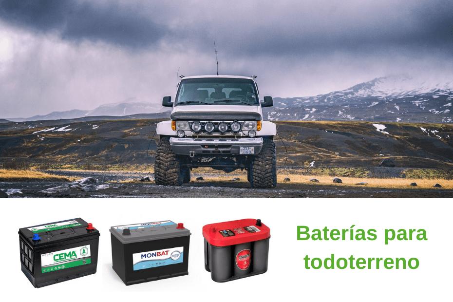 baterías para todoterreno