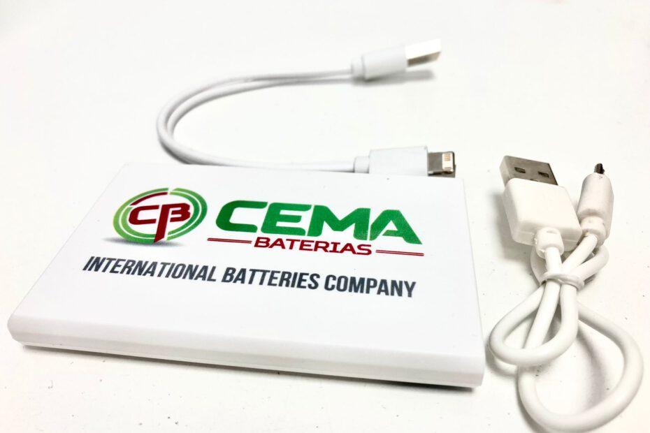 baterías externas CEMA Baterías